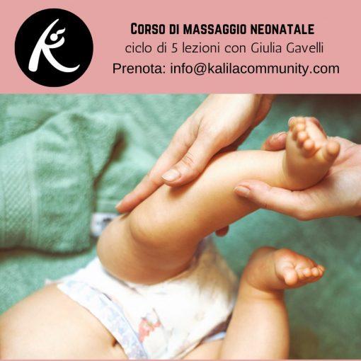 Infant Massage for babies 0-12 months