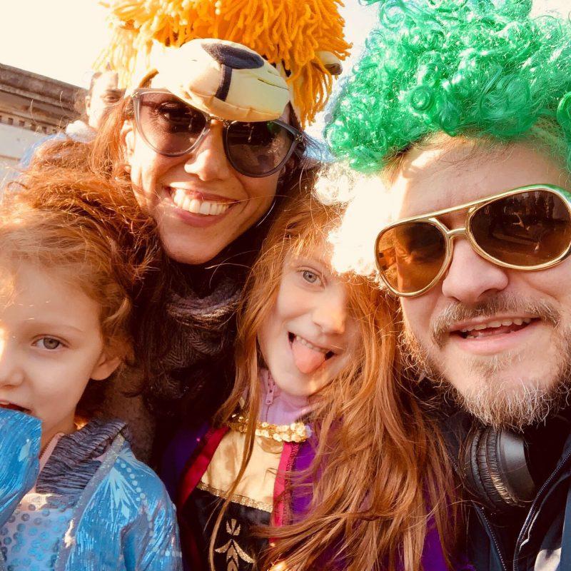 February 22, 2020: Carnevale Parade, Piemonte